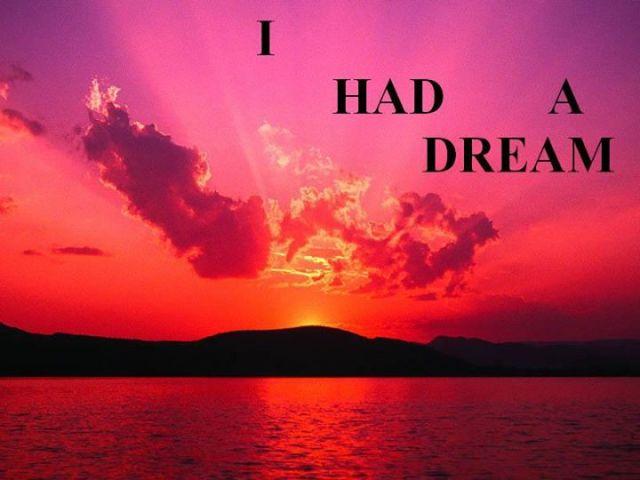 Ho fatto un sogno