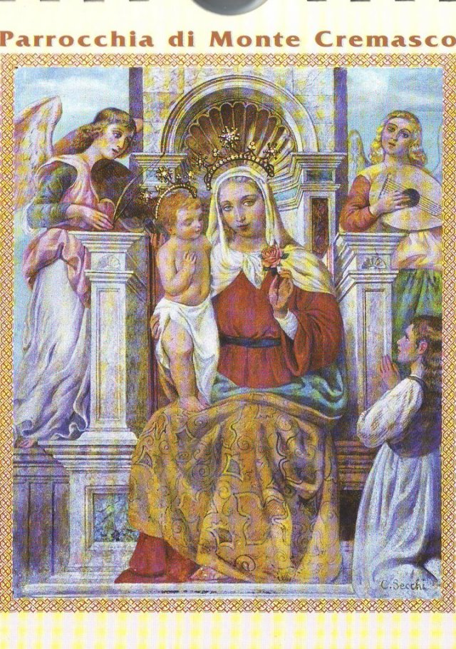 Madonna delle Assi - Carlo Secchi 1925 affresco