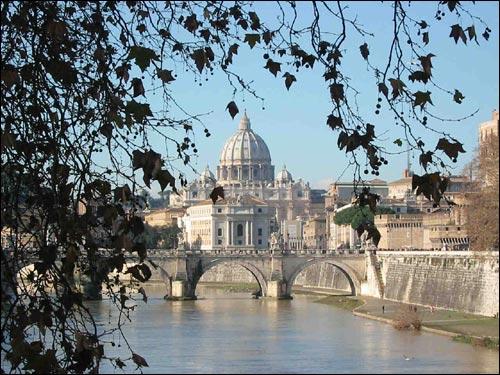 Roma - vista-san-pietro