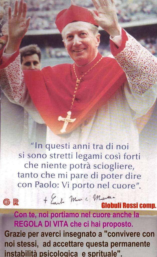Carlo Maria Martini arcivescovo