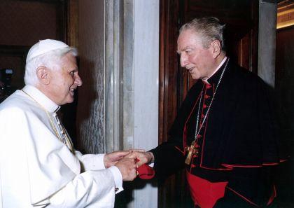 Benedetto XVI e il Card. C.M.Martini