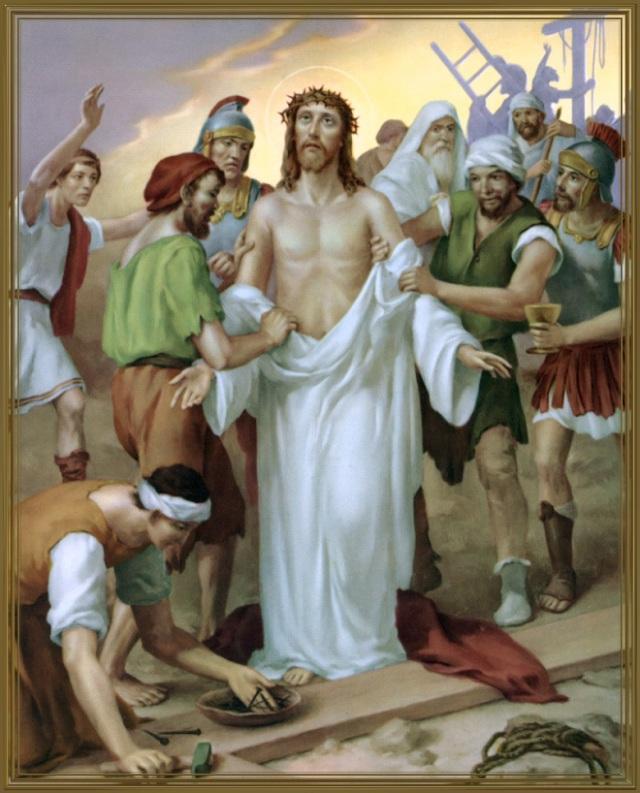 Via Crucis - Gesù spogliato