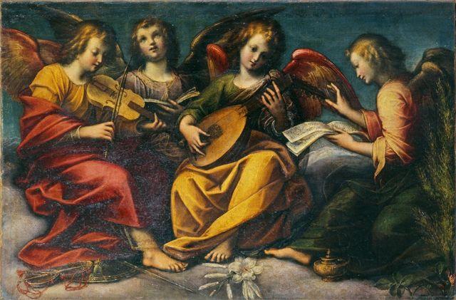 Violoncello -Caccia_Orsola_-_Angeli_musicanti