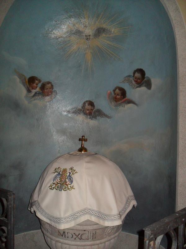Fonte battesimale - Chiesa madre di Cervignano