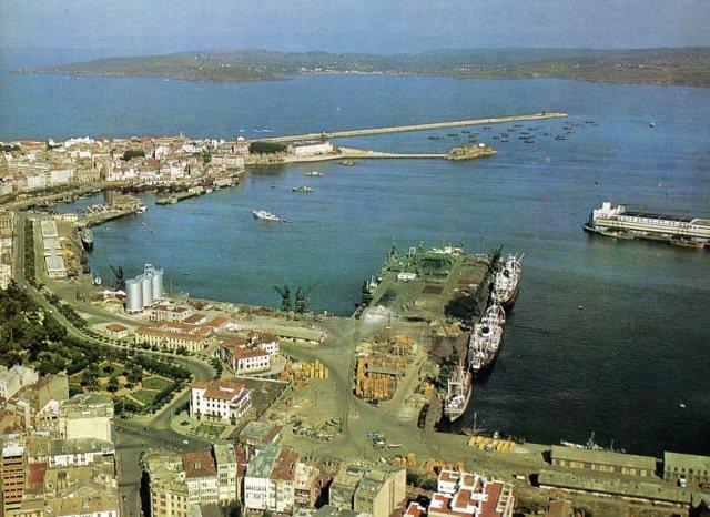 Coruña il porto