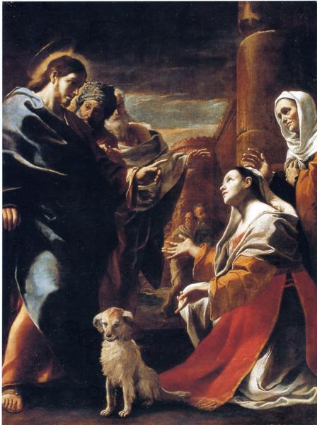 cristo-e-la-cananea-mattia-preti-1565-