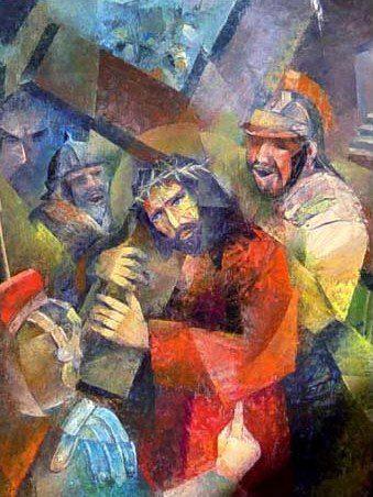 Gesù porta la croce.2jpg