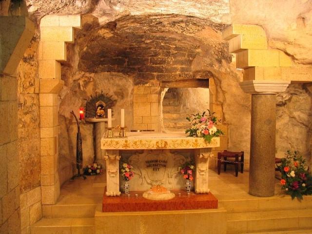 Nazareth - Grota annunciazione
