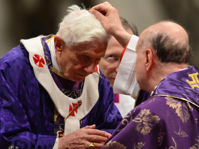 VATICAN-POPE-MASS-ASH WEDNESDAY