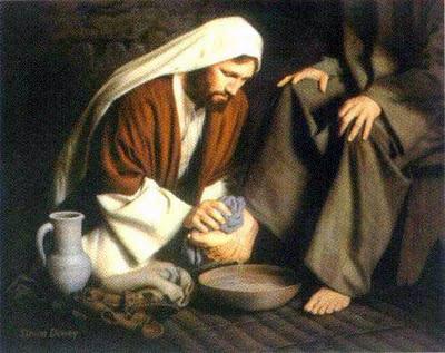 1-Gesù - Lavanda dei piedi