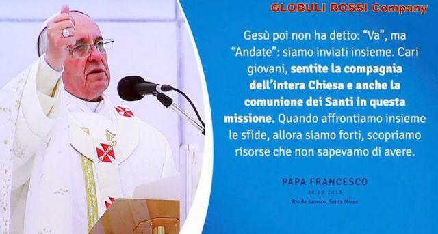 Papa Francesco - andate...