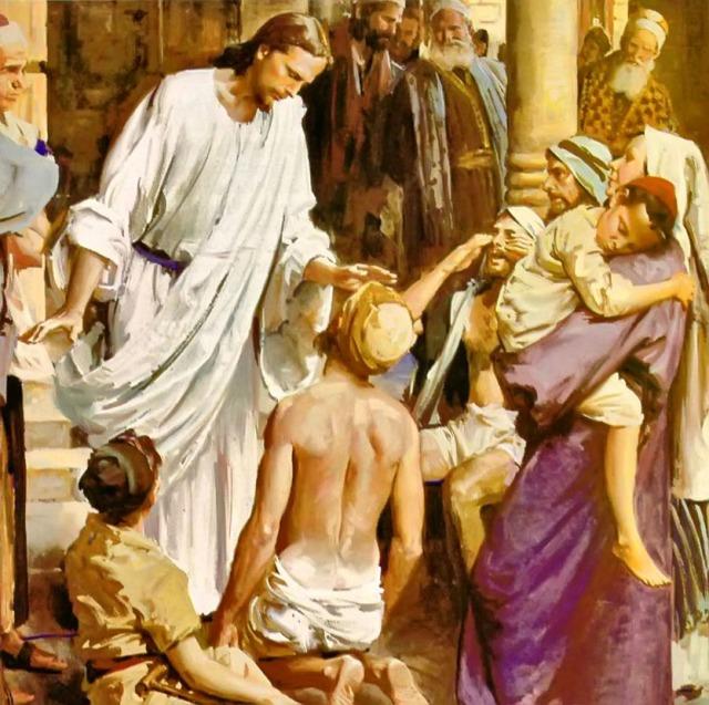 Gesù e i malati 01