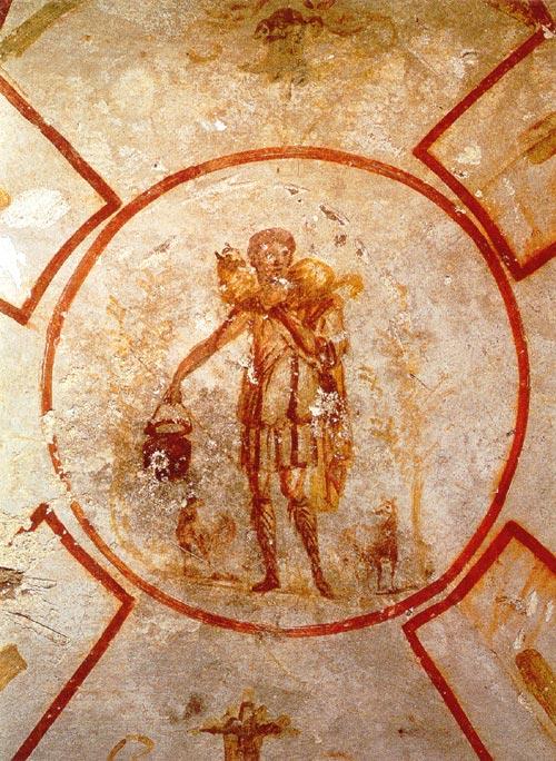 buon Pastore - Catacombe San Callisto