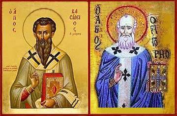 San Basilio e san Gregorio Nazianzeno