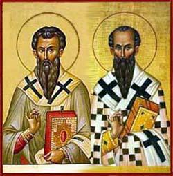 San Basilio e san Gregorio