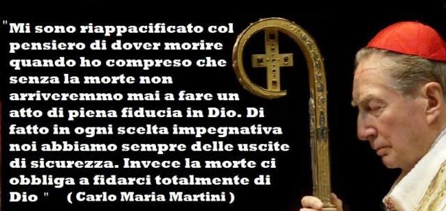 Carlo Maria Martini - Sulla morte