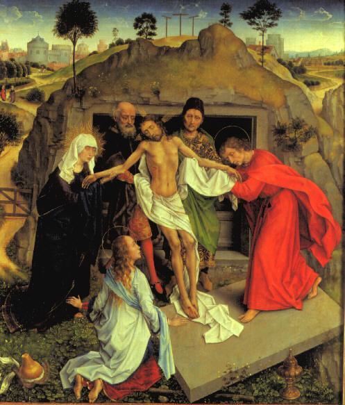 Gesù  deposto _Weydeng.Kladeni
