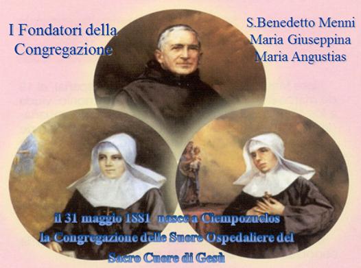 San Benedetto Menni e fondatrici