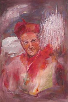 Carlo Maria Martini - Olio