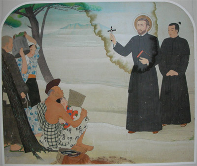 Kagoshima 9  - Chiesa Cattedrale - S.Francesco Saverio