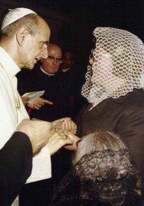 Madre Provvidenza con_Papa_Paolo_VI