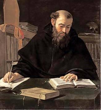 Sant'Agostino monaco