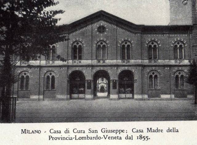 Fatebenefratelli - Ospedale San Giuseppe . Milano - Casa Madre dal 1855