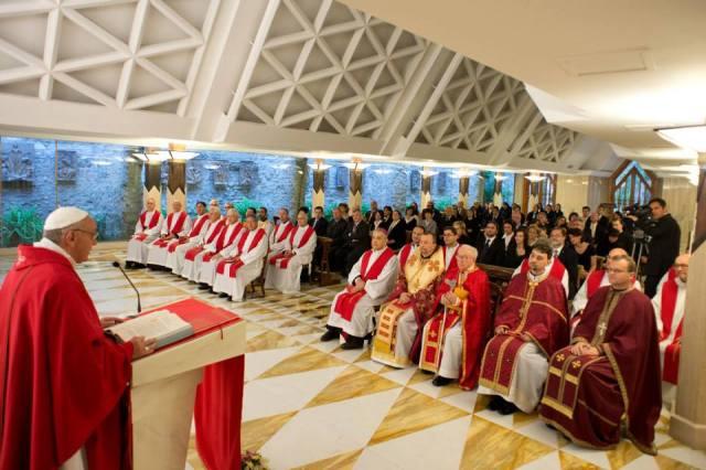 Papa Francesco - Messa a Santa Marta 2