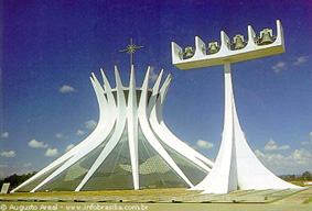Brasilia -Cattedrale - Esterno