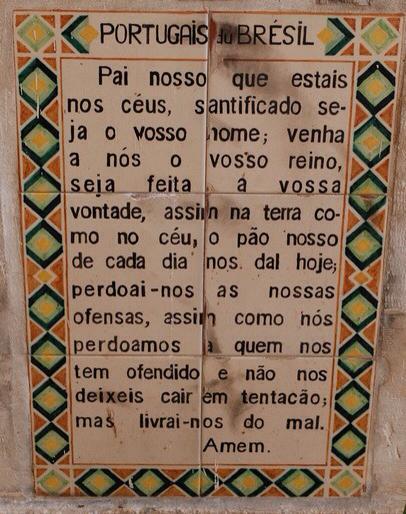 Padre Nostro in brasiliano