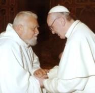Papa Francesco ed Enzo Bianchi priore di Bose