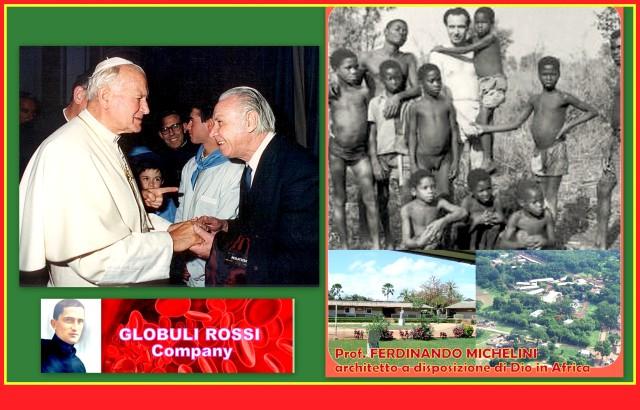 Ferdinando Michelini con Giovanni Paolo II1