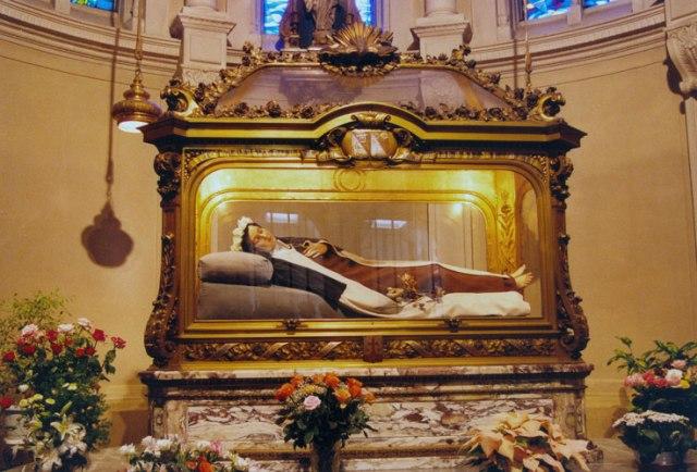 Santa Teresa di GesùBambino urna