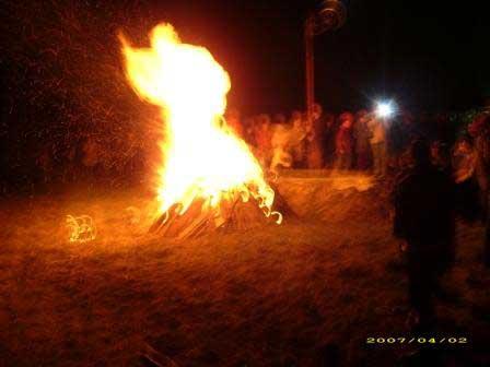 Sabato Santo - fuoco