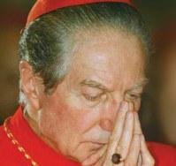Carlo Maria Martini in preghiera